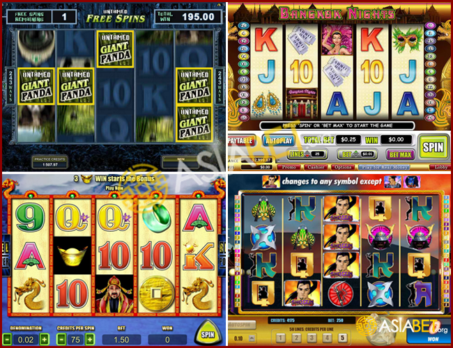 slot machine games online real money