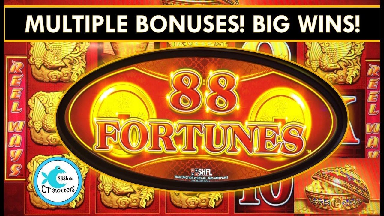 88 fortunes slot machine wins