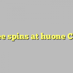 40 free spins at huone Casino