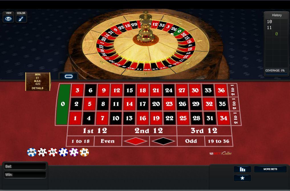 roulette casino online usa