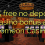 105 освободи без депозит казино бонус при Comeon Казино