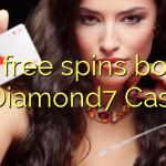 105 δωρεάν περιστροφές μπόνους στο Καζίνο Diamond7