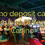 165 no deposit casino bonus at DrVegas Casino