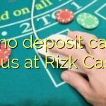 165 no deposit casino bonus at Rizk Casino