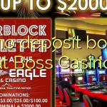 70 no deposit bonus at Boss  Casino