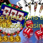 75 free spins at Betsson Casino