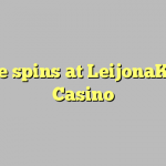 85 free spins at LeijonaKasino Casino