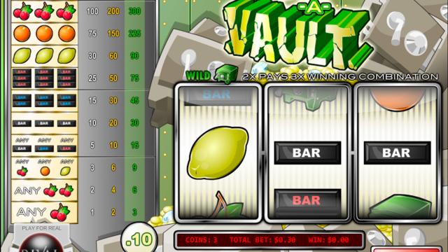 Bust-A-Vault free slot