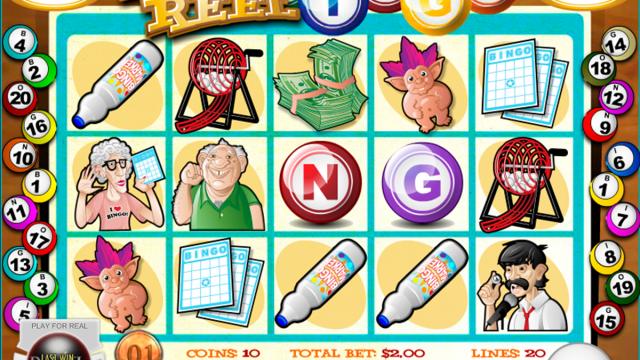 Five Reel BINGO free online slot