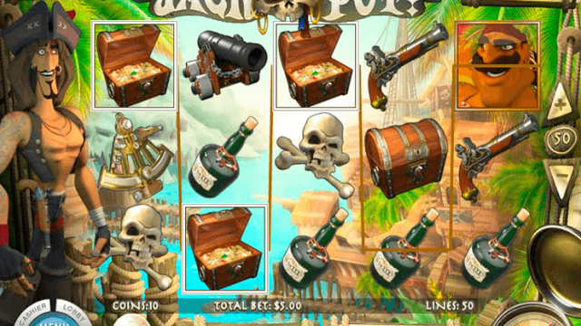Jolly Rogers Jackpot free slot game