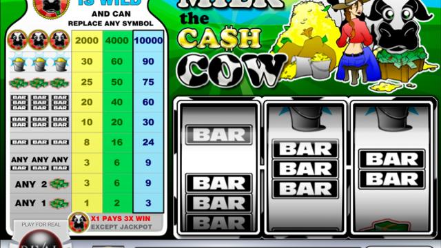Milk the Cash Cow free slot