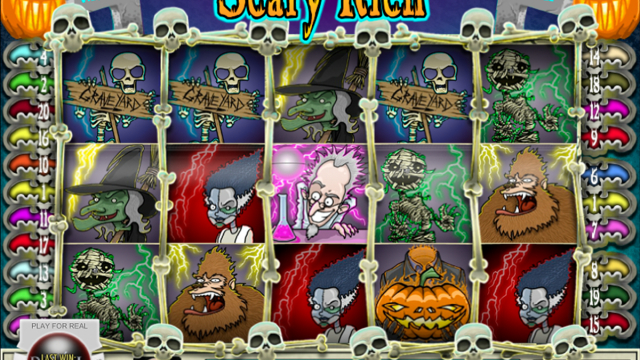Scary Rich free slot game