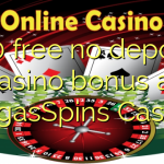 100 free no deposit casino bonus at VegasSpins Casino