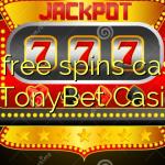 105 free spins casino at TonyBet Casino