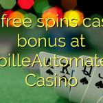 105 free spins casino bonus at SpilleAutomater Casino