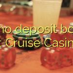 115 no deposit bonus at Cruise Casino
