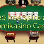 120 free spins at Suomikasino Casino