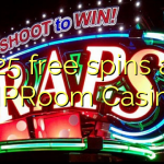125 free spins at VIPRoom  Casino