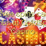 145 free spins casino bonus at GoldSpins Casino
