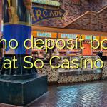 145 no deposit bonus at So  Casino