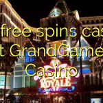 155 free spins casino at GrandGames Casino