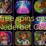 155 free spins casino at Nederbet  Casino