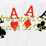 155 free spins casino bonus at So  Casino