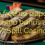 170 gratis ingen insättning kasino bonus på MrSpill Casino