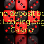 170 no deposit bonus at Landing page Casino