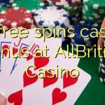 20 free spins casino bonus at AllBritish  Casino
