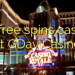 30 free spins casino at GDay  Casino