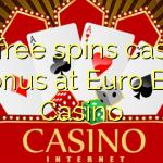 30 free spins casino bonus at Euro Bet Casino