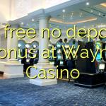 40 membebaskan ada bonus deposit dalam Wayne Casino