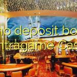 40 no deposit bonus at Intragame Casino
