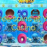 45 free spins at Yako  Casino