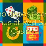50 no deposit casino bonus at Red Slots Casino