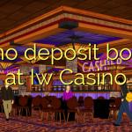55 no deposit bonus di Iw Casino