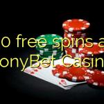60 free spins at TonyBet Casino