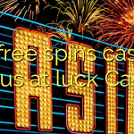 65 free spins casino bonus at luck Casino