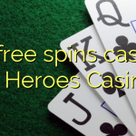 75 free spins casino at Heroes Casino