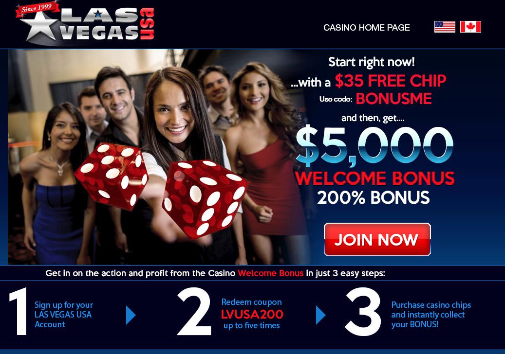 Las Vegas Online casino. Win jackpot