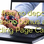 90 bevry geen deposito casino bonus by Landing Page Casino