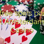 90 free spins bonus at Amsterdams  Casino