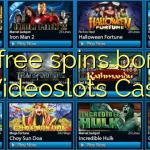 95 free spins bonus at Videoslots Casino