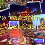 120 free spins at LVbet Casino