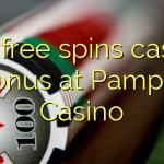 120 free spins casino bonus at Pamper Casino