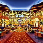 145 no deposit casino bonus at Cash Palace Casino
