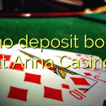 15 no deposit bonus at Anna Casino