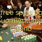 160 δωρεάν περιστροφές μπόνους στο Καζίνο SuomiAutomaatti