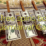 160 free spins bonus at Suomiarvat Casino